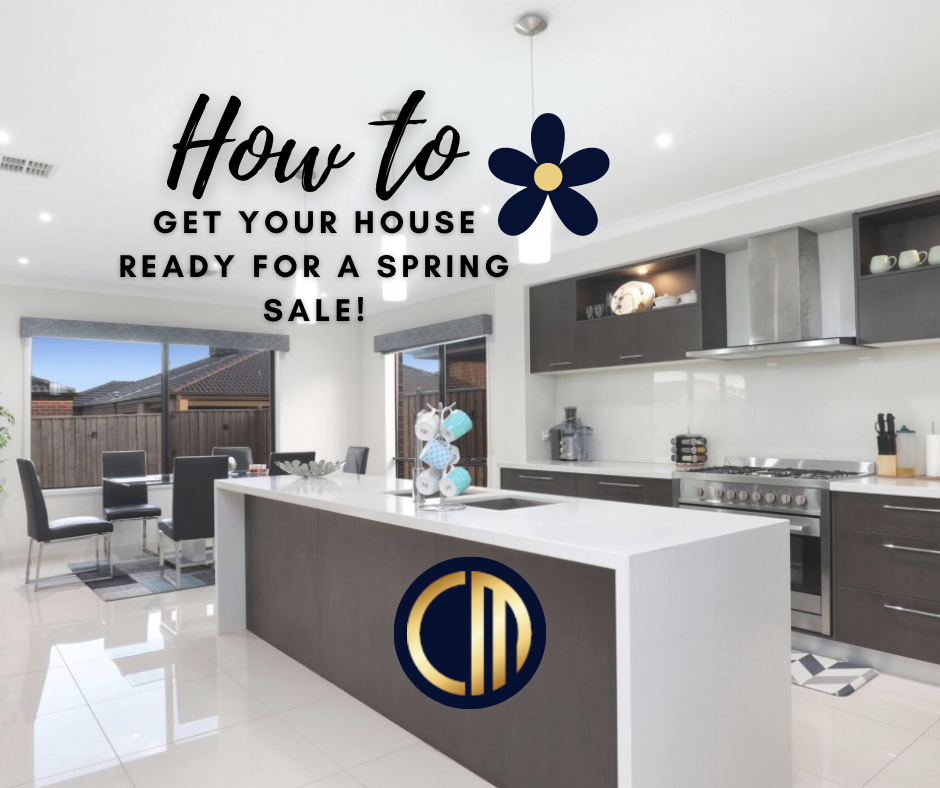 Different by Design Social Media - How to get house ready for Spring Sale