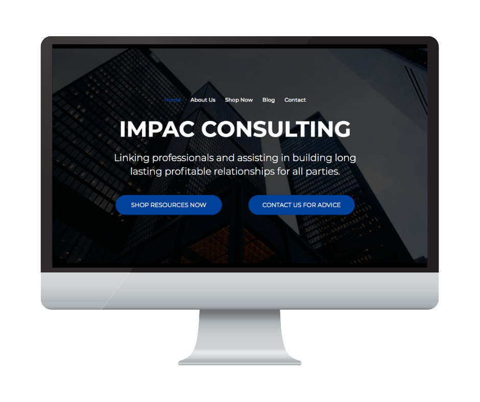 Different by Design Websites - Impac Consulting