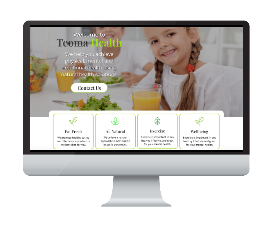 Different by Design Websites - Teoma Health