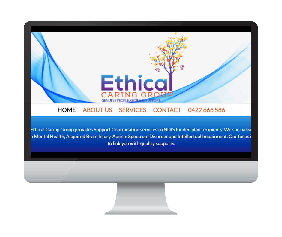 Different by Design Websites - Ethical Caring Group