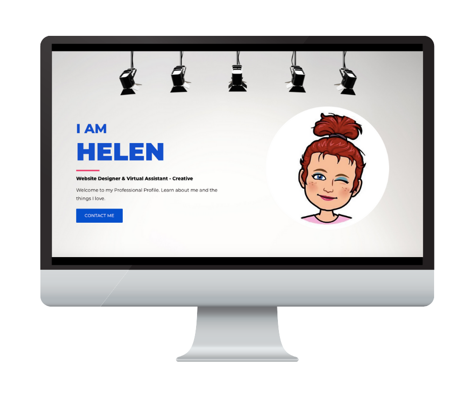 Different by Design Websites - I Am Helen