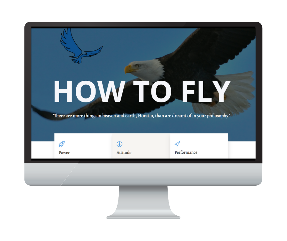 Different by Design Websites - How to Fly