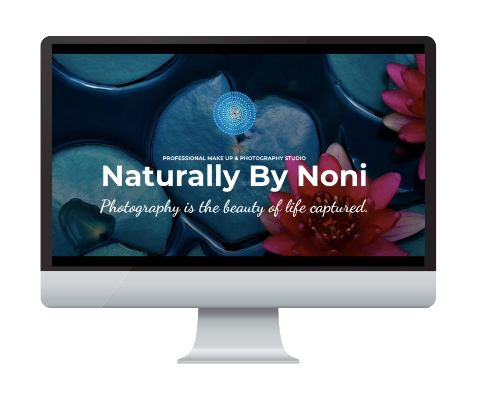 Different by Design Websites - Naturally by Noni