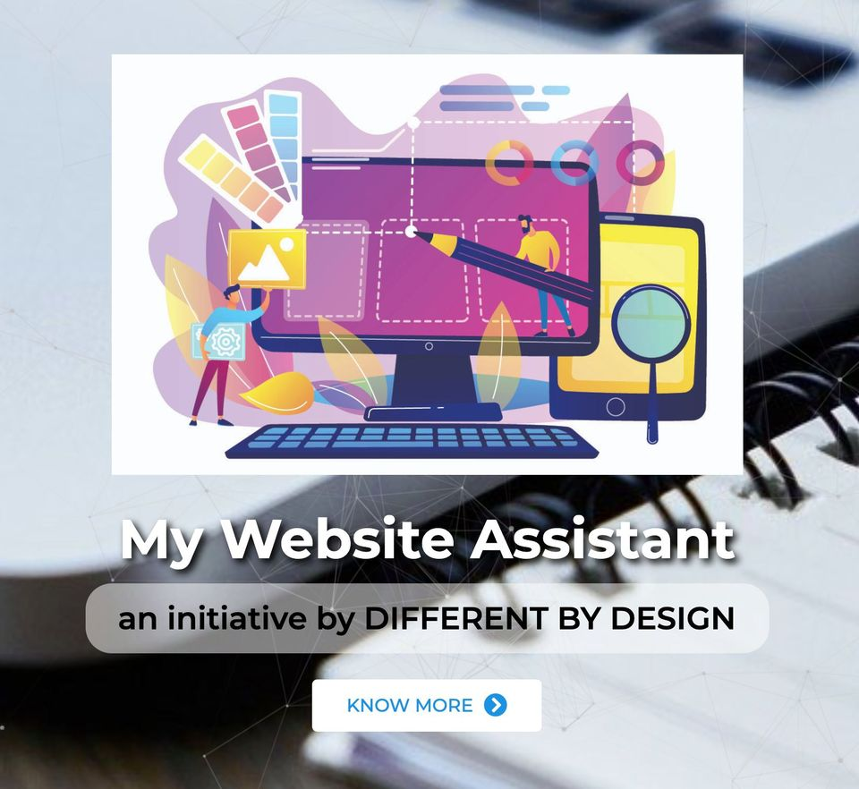 Different by Design Websites - My Website Assistant