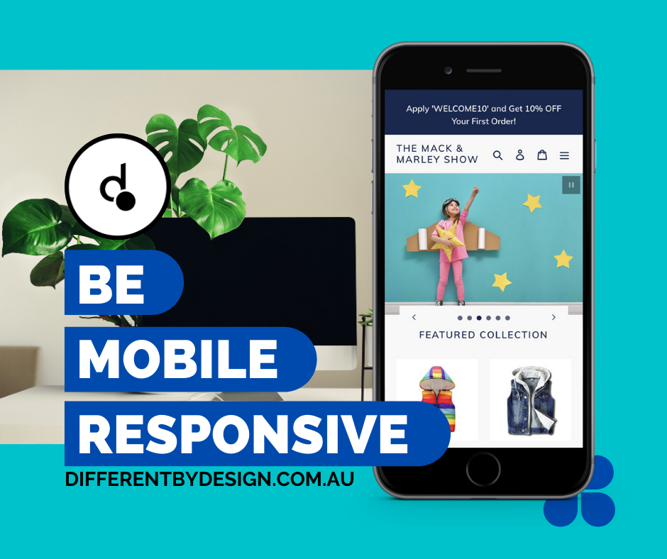 Different by Design Social Media - Be Mobile Responsive 2